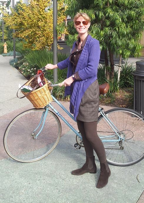 Melissa Balmer, Media Promotions. Founder of Women on Bikes California and Pedal Love.