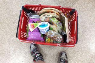 Groceries by Bike